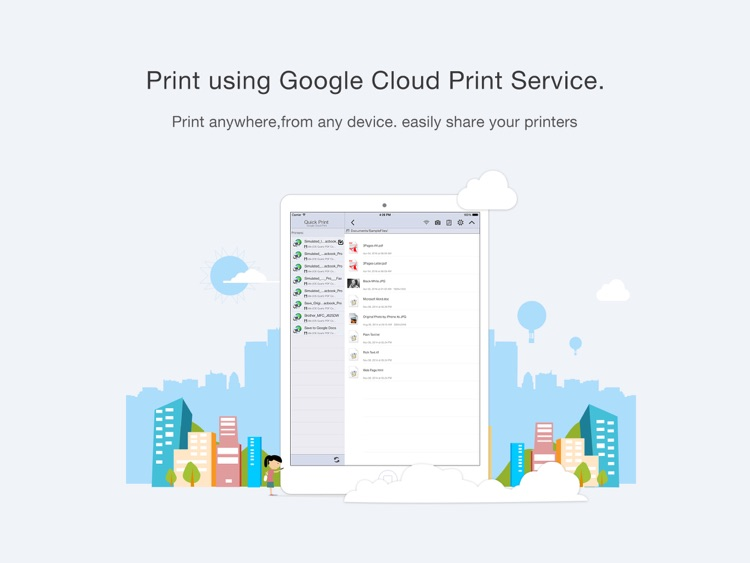 Quick Print via Google Cloud Print for iPad screenshot-2