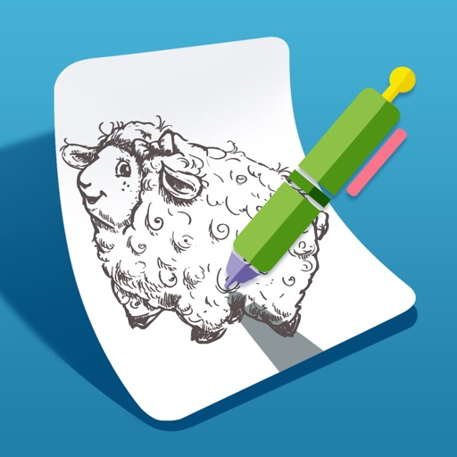 iSketch Pad for iPad and iPhone icon