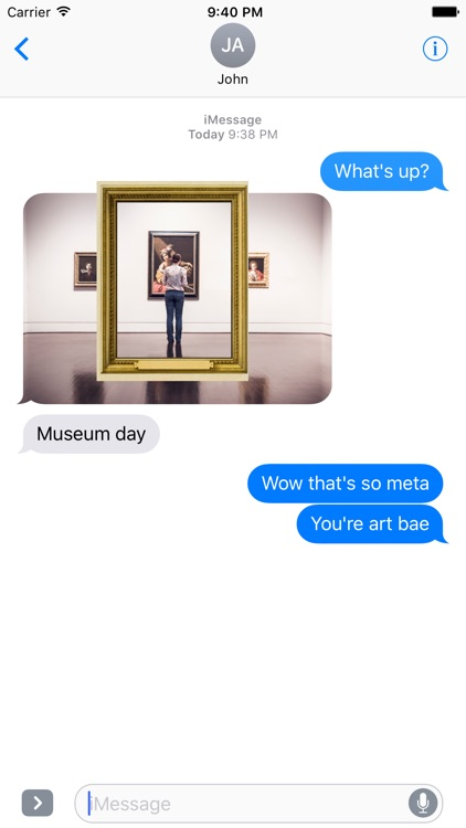 Mirror Mirror - Sticker Frames screenshot-3