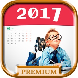 New Year 2017 Personalized Photo Calendar - Pro
