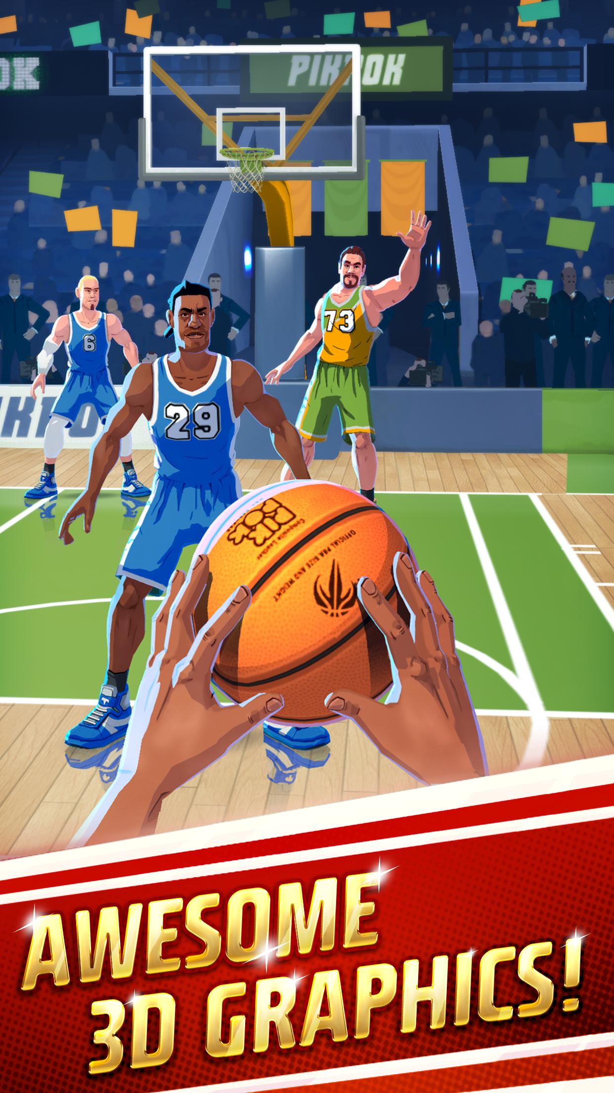 Rival Stars Basketball Screenshot