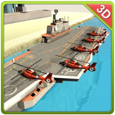 Activities of Helicopter Transport Ship Simulator- Flight game