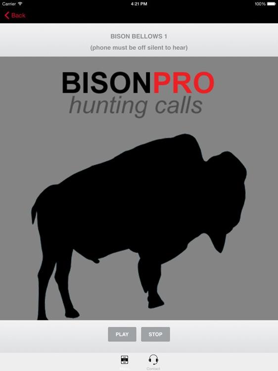 Bison Big Game Hunting Calls HD