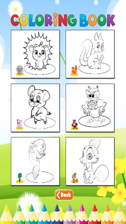 Dog and Friends coloring book - for kid screenshot-4