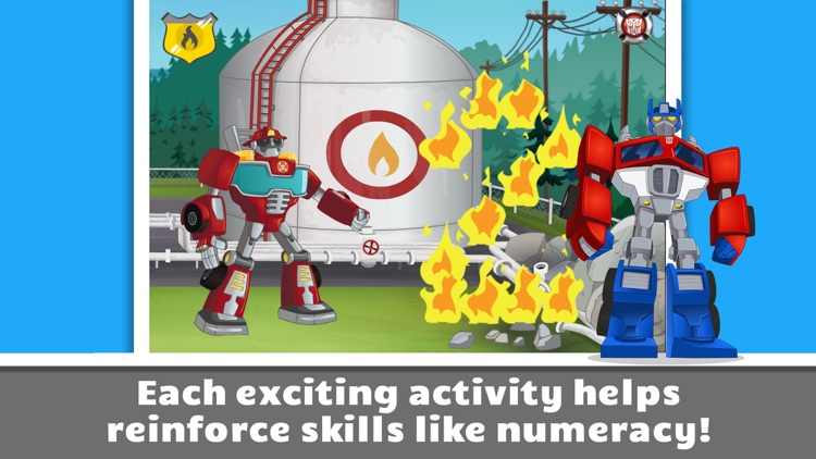Transformers Rescue Bots: Save Griffin Rock screenshot-2