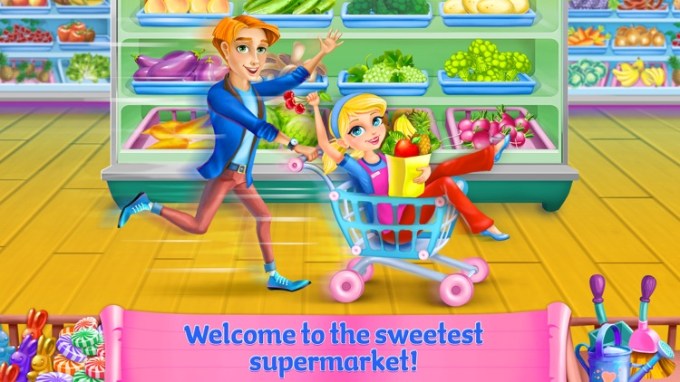 Supermarket Girl - Shopping Fun!