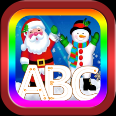 Activities of ABC Alphabet Tracer Santa Claus song game for baby