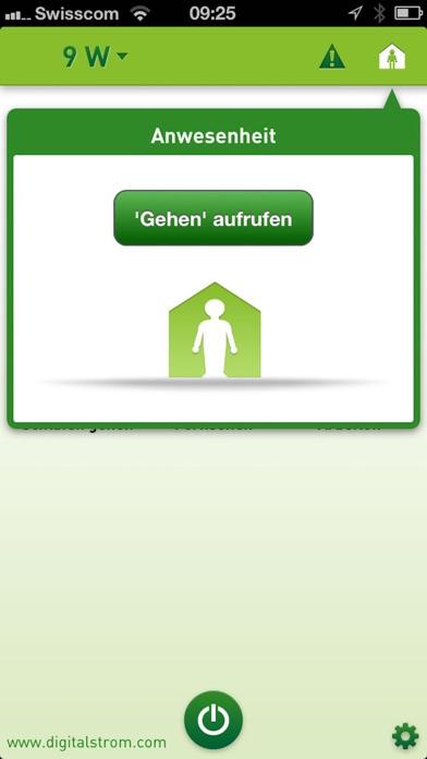 digitalSTROM DashboardScreenshot von 5