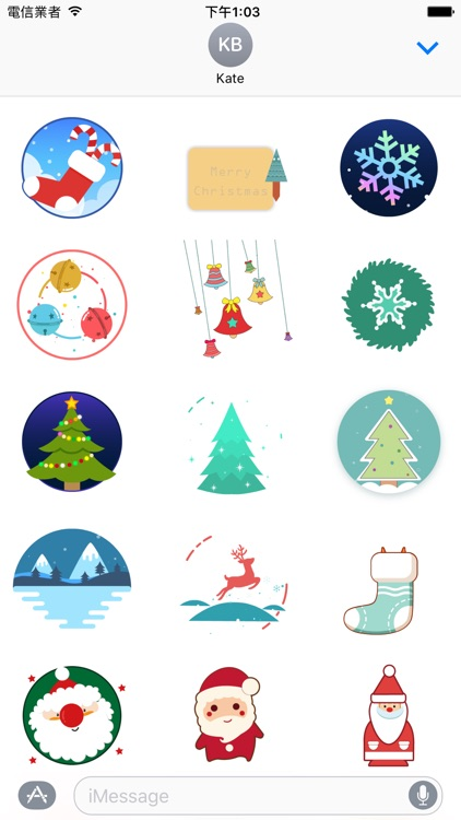 Christmas Joys - Lovely Xmas stickers