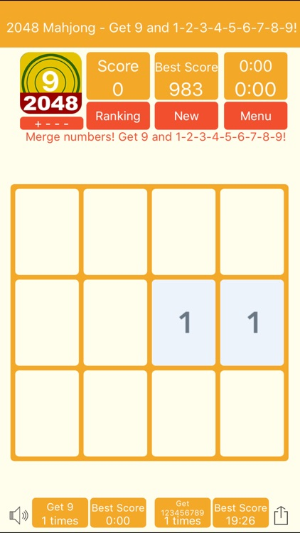 2048 Mahjong Pro- Get 9 screenshot-4