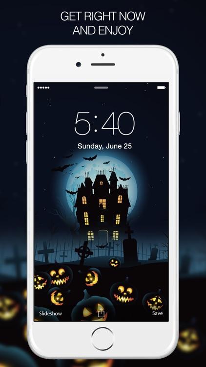 Halloween Wallpapers & Scary Wallpaper screenshot-4
