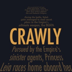 Crawly - The Best Crawl Creator for Star Wars on the App Store