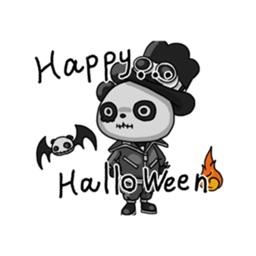 Panda Halloween in Love