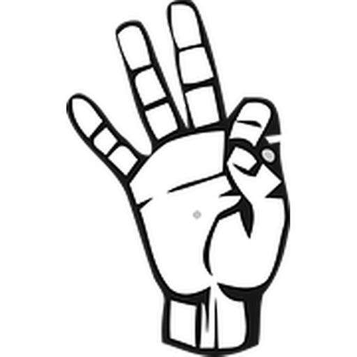 Sign Language Sticker Pack