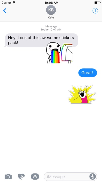 Rage Comics - Stickers Pack