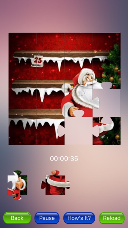 Merry Xmas jigsaw screenshot-0