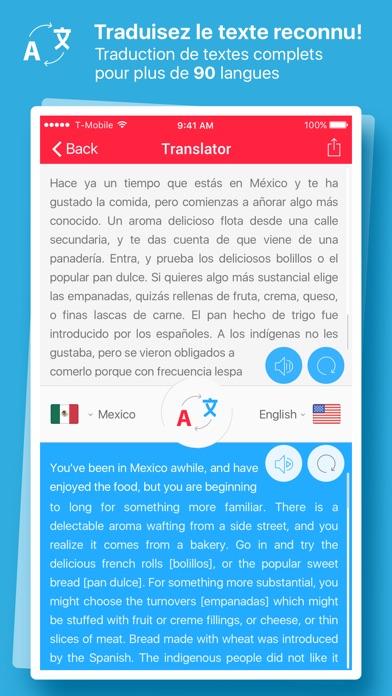 Screenshot #2 pour Scanner et Traducteur+ – traduction de la photo