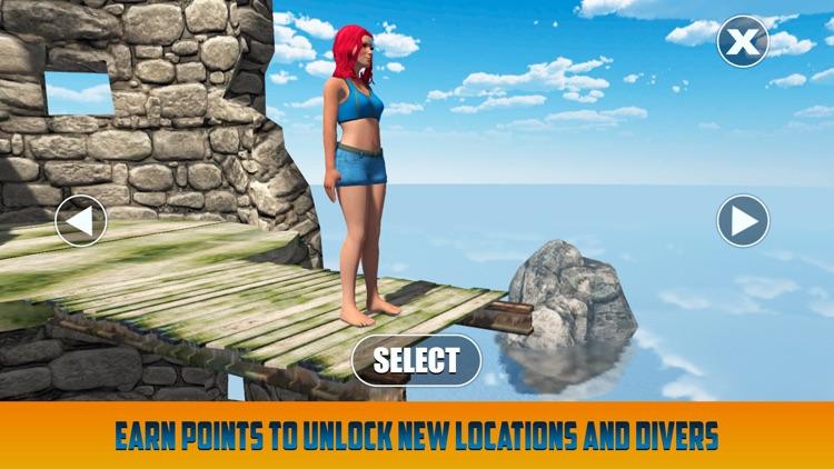 Cliff Flip Diving: Swimming Simulator