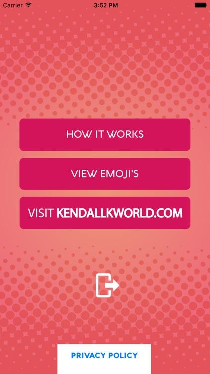 Kendall KMoji