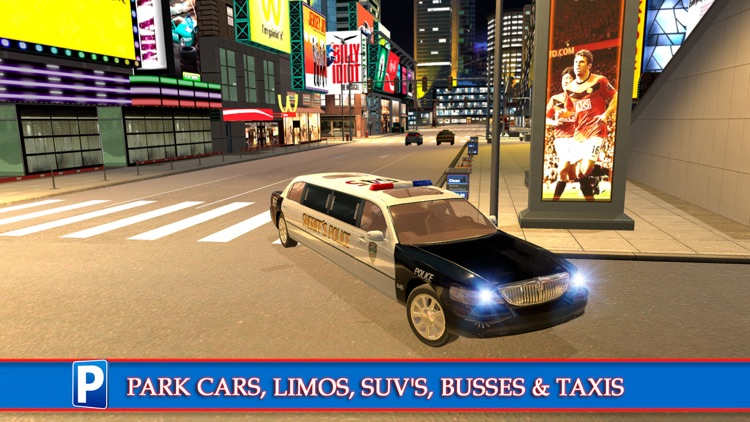 New York City Car Taxi and Bus Parking Simulator