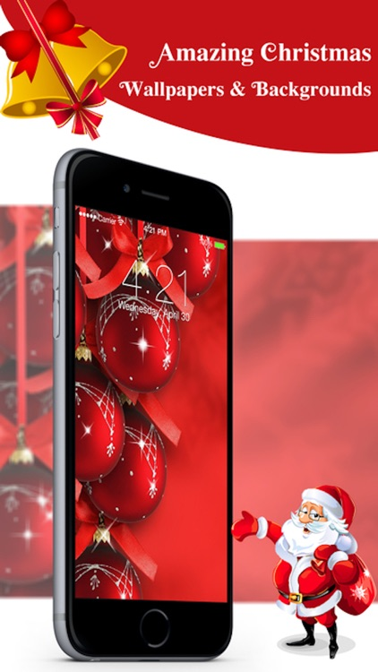 Christmas Live Wallpapers™ & Custom Backgrounds HD screenshot-4