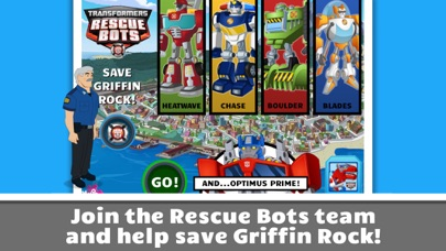 Transformers Rescue Bots: Save Griffin Rock Screenshot