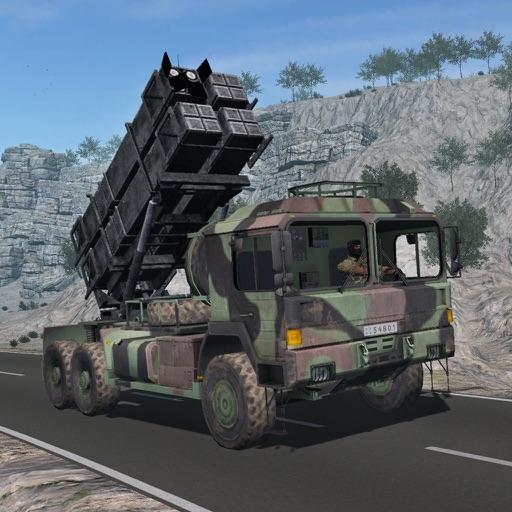 От дороги тяжелые вождения - армия транспорт игра