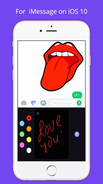 Lip Emoji Stickers screenshot-4