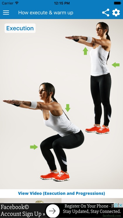 BodyTastic: Squats Trainer Workout Exercise Legs