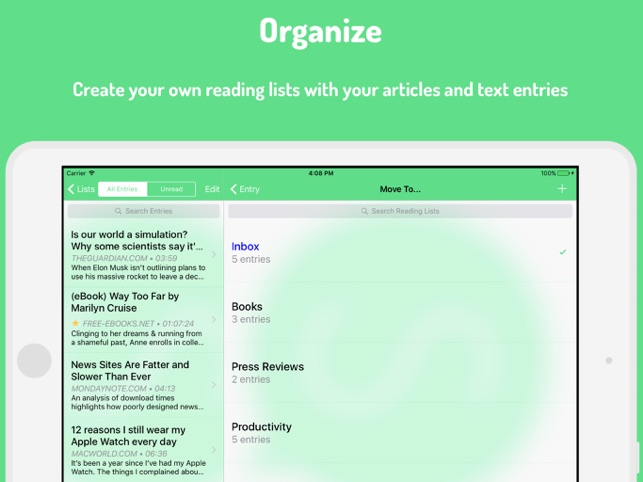 Speaky - Article Voice Reader Screenshot