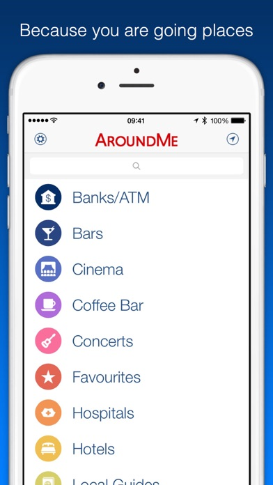 AroundMe screenshot one