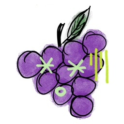 GRAPEs Stickers for iMessage