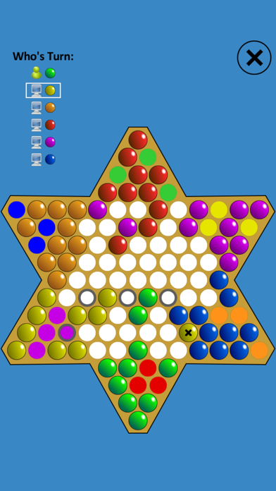 Chinese Checkers Touch screenshot four