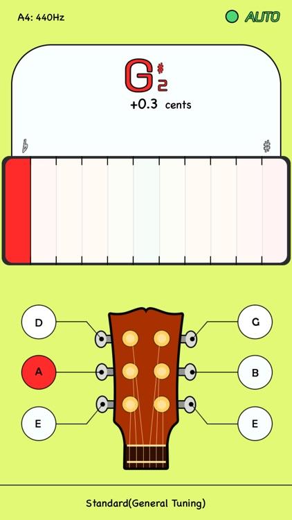 guitar tuner app for iphone screenshot-3