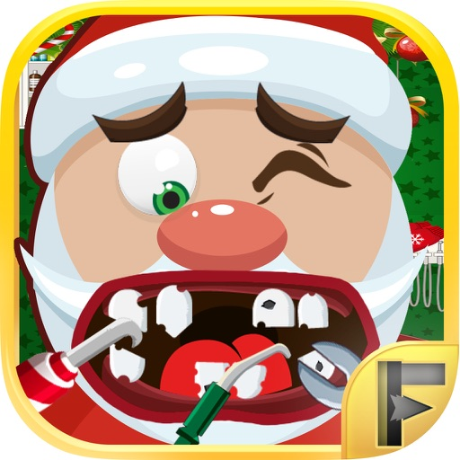 Christmas Dentist Elf.Crazy Santa Christmas Dentist Surgery Free Games By