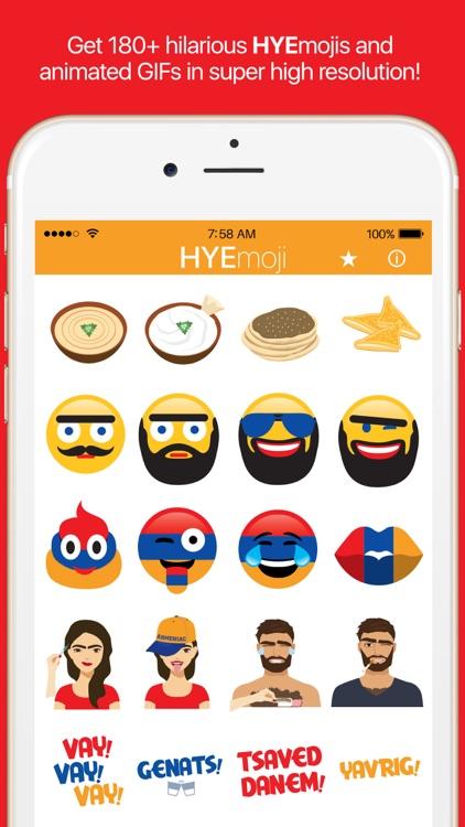 HYEmoji – Armenian Emojis, Yerevan, Armenia! screenshot-0
