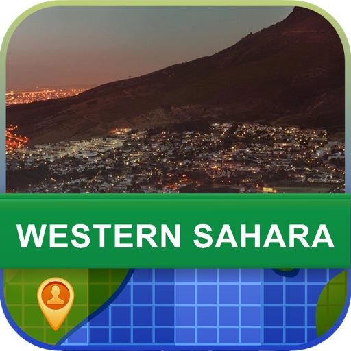 Offline Western Sahara Map - World Offline Maps