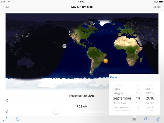 Day night map on the app store day night map on the app store gumiabroncs Images