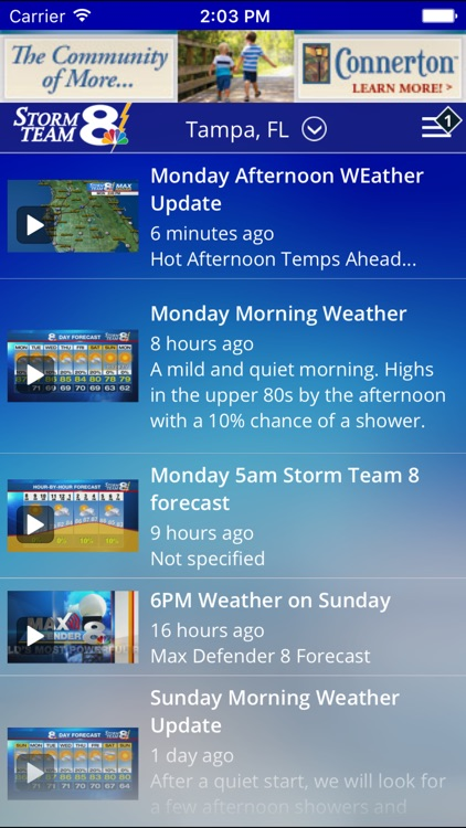 Storm Team 8 - WFLA - Weather Max - Tampa screenshot-1