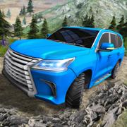 极尽奢华驾驶-关闭道路 4 × 4 吉普车的 3D 游戏