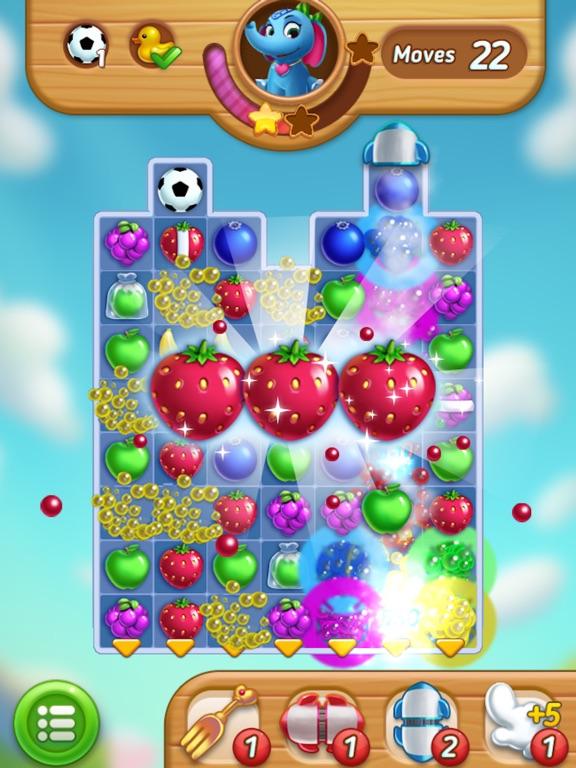 Fruits Mania : Elly's travel на iPad
