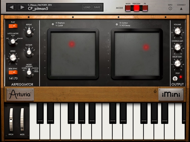 iMini Synthesizer screenshot-2