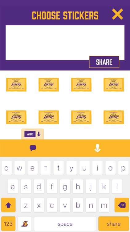Showtime! Stickers by the Los Angeles Lakers screenshot-3