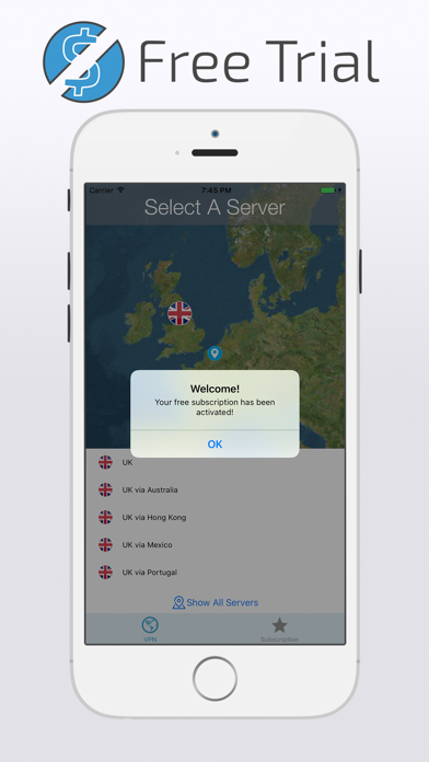 UK VPN with FREE Subscription screenshot three