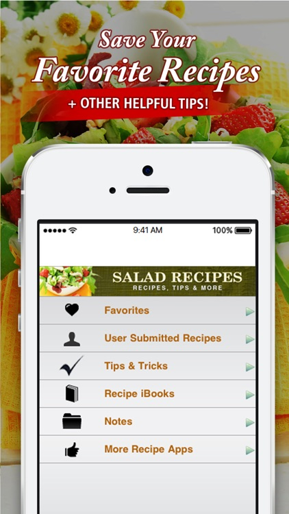 Salad Recipes++ screenshot-3