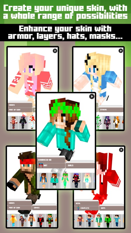 Skins For Minecraft PE PC Free Skins Online Game Hack And - Skins para minecraft pe pc