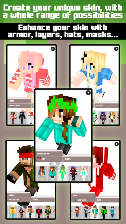 Skins for Minecraft PE & PC - Free Skins screenshot-2