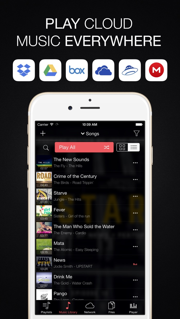 Evermusic - offline music Screenshot