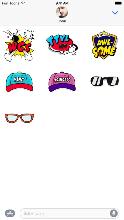 Fun Toons stickers: Mega fun for your daily chats! screenshot-4