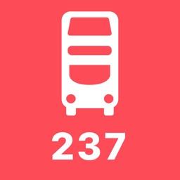 My London TFL Bus Times - 237